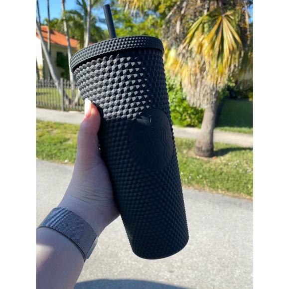 Starbucks Matte Black Studded Tumbler🖤